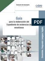 Guía Académica Segunda Lengua Inglés