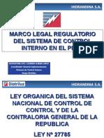 Marco Legal Regulatorio Del Sci