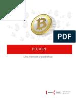 Bitcoin Una moneda criptográfica