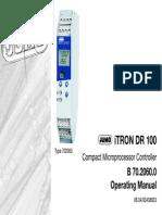 Conrtoller DR100 Manual