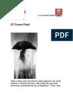 El Tramo Final. Por Gustavo Gorriti