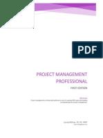Professional Project Management - SBook
