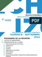 Reunion Interobras Guernica Sept 2014