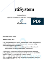 OptiSystem Getting Started