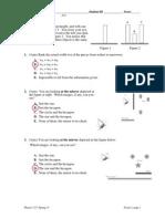 Spring 2015 Physics 123 Exam 2 Solution
