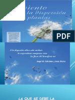 El Viento y La Dispersion en Las Plantas