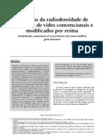 Radiopacidade dos CIV