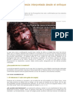 La Pasión de Jesús Interpretada Desde El Enfoque de La Medicina