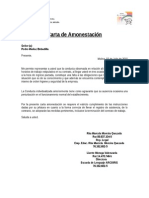 Carta Amonestacion