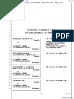 Sony Electronics Inc, et al v. Guardian Media Tech - Document No. 79