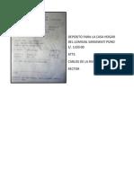 Deposito Para La Casa Hogar Del Lumisial Saraswati Puno s