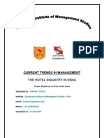 Hotel Industry in India
