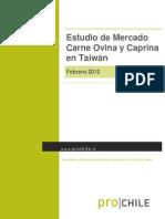 Estudio de Mercado. Carne Ovina y Caprina en Taiwán