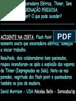 Acidente - Flash Point