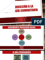Psicologia Comunitaria 2S