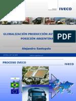 GLOBALIZACION, PRODUCCION AUTOPARTISTA