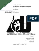 Desarrollo Historico Del Riego en Guatemala