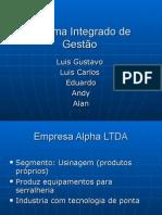 Sistema Integrado de Gestão - Seleção Traduzida
