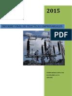 Informe Final de Practicas Empresariales Electricaribe s.a.e.s.p.