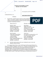 MARS, INC. v. NATRACEUTICAL, S.A. et al - Document No. 40