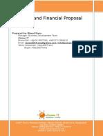 Web development proposal