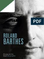 Samoyault, Thiphaine - Barthes - Biografía Primer Capítulo