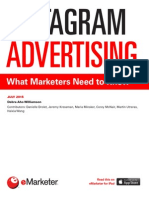 EMarketer Instagram Advertising-What Marketers Need to Know