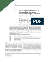 Alto Subdiagnostico Del Sd de Piernas Inquietas en La Consulta Ambulatoria Neurologica y Psiquiatrica