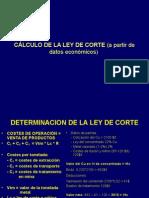 Determinación Ley, Potencia, Reservas, Etc