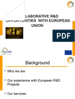 Collaborative Projects With EU