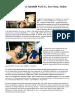 Entrenador Personal Sabadell, Vallés, Barcelona, Online