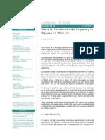 Sobre la Distribución del Ingreso y la Riqueza en Chile (I)