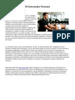 Centro Deportivo J10 Entrenador Personal
