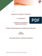 Unidad 3. Metodolog°a para el An†lisis Costo-Beneficio.pdf