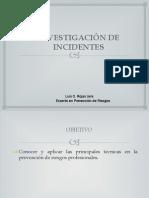 10.- Investigacion de Incidentes