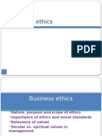 II ppt concept of busniess ethics
