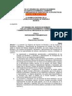Ley Organica de Bomberos_borrador v-5!9!2013