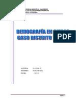 Trabajo de Demografia-distrito 7