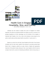 Health Care in Singapore