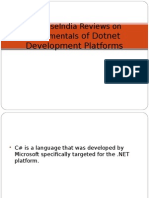 SynapseIndia Reviews on Fundamentals of Dotnet Development Platforms