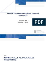FINS5530 Lecture 2 Unstanding Bank Financial Statements