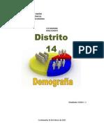 Trabajo de Demografia-distrito 14