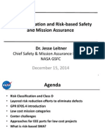 Risk Classification and Risk-Based Safety and Mission Assurance