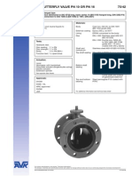 67810335 AVK Valvula Borboleta Com Flanges Iso5752 Concentric a Corpo Longo Serie 7542