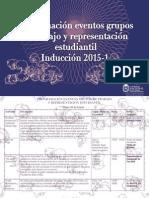 2. Programación Grupos Estudiantiles de Trabajo y Representación Estudiantil UN
