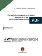 Atencion Al Cliente en Gastronomia