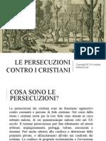 Le Persecuzioni Contro i Cristiani (4.3)
