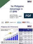 Philippine Advantage in IT-BPM