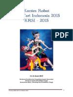 Kontes Robot Seni Tari Indonesia 2015-Ver-1-Okt-2014