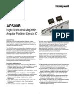 APS00B PS_005924-2-En_Final_27Aug11 Data Sheet Angular Magnetic Position